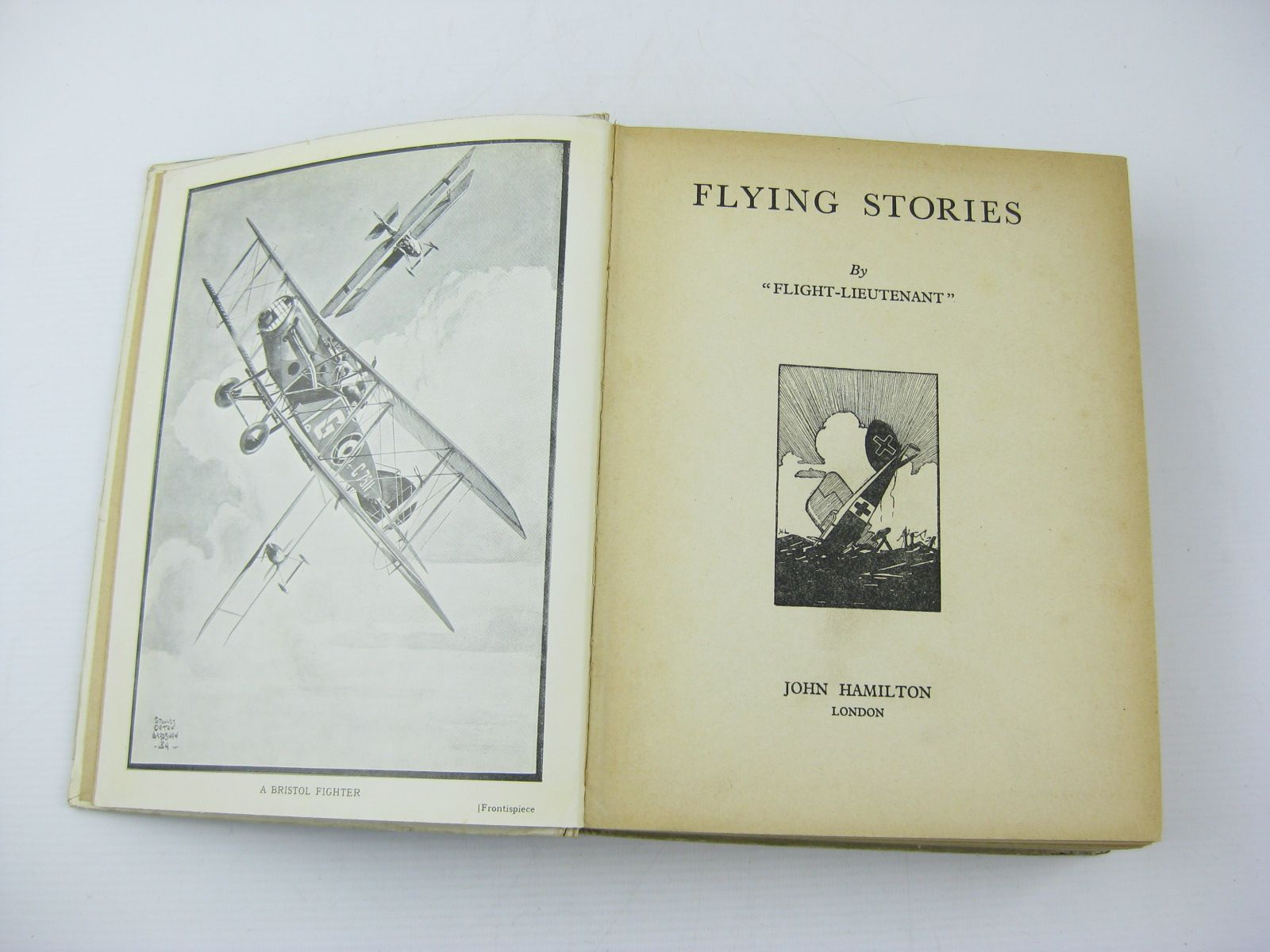 Photo of FLYING STORIES written by Flight-Lieutenant, <br />Rochester, George E.<br />Johns, W.E.<br />et al,  illustrated by Bradshaw, Stanley Orton<br />et al.,  published by John Hamilton (STOCK CODE: 718902)  for sale by Stella & Rose's Books