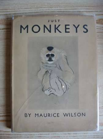 Photo of JUST MONKEYS written by Wilson, Maurice illustrated by Wilson, Maurice published by Country Life Ltd. (STOCK CODE: 720403)  for sale by Stella & Rose's Books