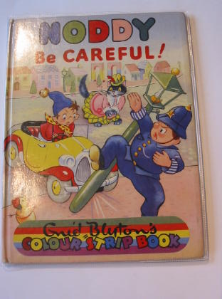 Photo of NODDY BE CAREFUL! written by Blyton, Enid illustrated by Beek,  published by Sampson Low, Marston & Co. Ltd., D.V. Publications Ltd. (STOCK CODE: 724270)  for sale by Stella & Rose's Books