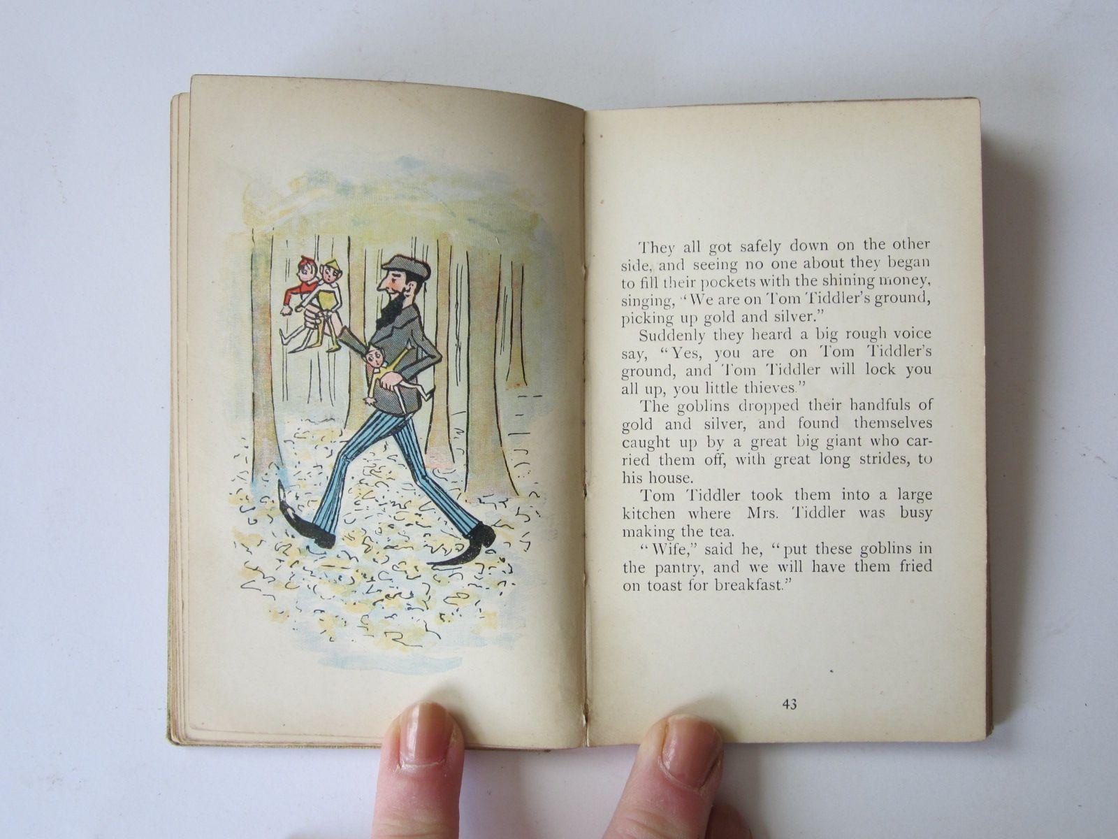 Photo of THE STORY OF THE THREE GOBLINS written by Taggart, M.G. illustrated by Taggart, M.G. published by Grant Richards (STOCK CODE: 726937)  for sale by Stella & Rose's Books