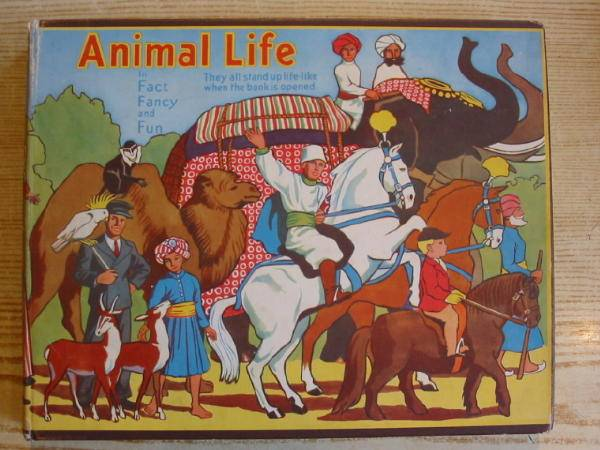 Photo of ANIMAL LIFE IN FACT, FANCY AND FUN written by Giraud, S. Louis published by Daily Sketch & Sunday Graphic Ltd. (STOCK CODE: 728374)  for sale by Stella & Rose's Books