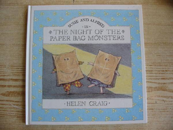 Photo of SUSIE AND ALFRED IN THE NIGHT OF THE PAPER BAG MONSTERS written by Craig, Helen illustrated by Craig, Helen published by Walker Books (STOCK CODE: 728833)  for sale by Stella & Rose's Books