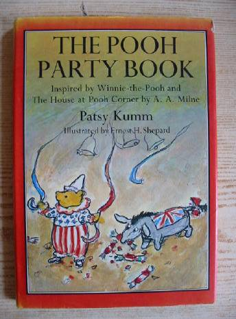 Photo of THE POOH PARTY BOOK written by Milne, A.A.<br />Kumm, Patsy illustrated by Shepard, E.H. published by Methuen Children's Books Ltd. (STOCK CODE: 729832)  for sale by Stella & Rose's Books