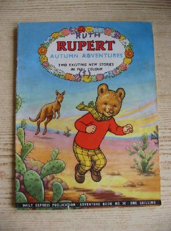 Photo of RUPERT ADVENTURE BOOK No. 38 - AUTUMN ADVENTURES written by Bestall, Alfred published by Daily Express (STOCK CODE: 731233)  for sale by Stella & Rose's Books