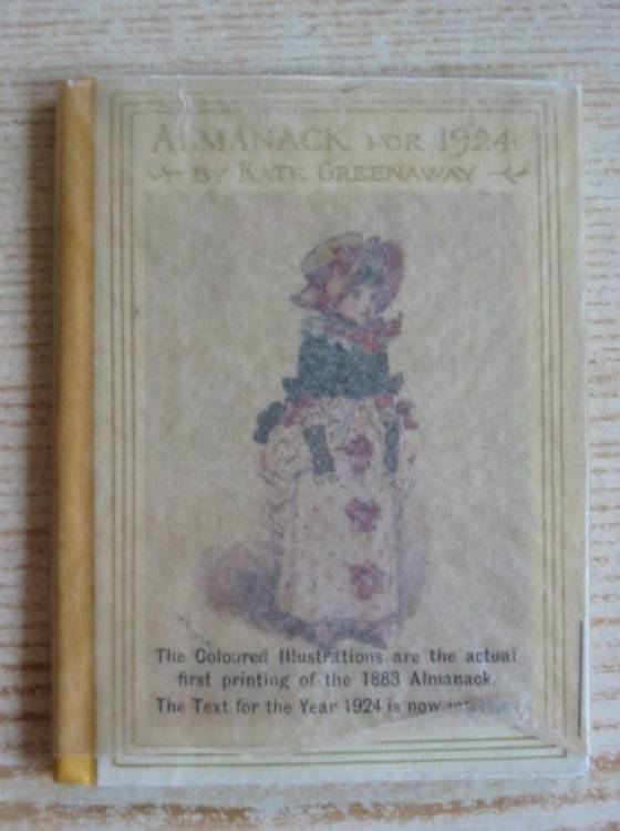 Photo of ALMANACK FOR 1924 illustrated by Greenaway, Kate published by Frederick Warne & Co Ltd. (STOCK CODE: 731830)  for sale by Stella & Rose's Books