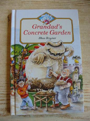 Photo of GRANDAD'S CONCRETE GARDEN written by Rayner, Shoo illustrated by Rayner, Shoo published by A. & C. Black Ltd. (STOCK CODE: 732053)  for sale by Stella & Rose's Books