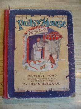 Photo of PATSY MOUSE written by Ford, Geoffrey illustrated by Haywood, Helen published by Ward, Lock & Co. Ltd. (STOCK CODE: 732307)  for sale by Stella & Rose's Books