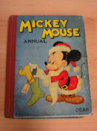 Photo of MICKEY MOUSE ANNUAL 1946 FOR 1947 written by Disney, Walt illustrated by Disney, Walt published by Dean (STOCK CODE: 733523)  for sale by Stella & Rose's Books