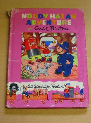 Photo of NODDY HAS AN ADVENTURE written by Blyton, Enid illustrated by Wienk, Peter<br />Tyndall, Robert published by Sampson Low, Marston & Co. Ltd., Dennis Dobson (STOCK CODE: 733915)  for sale by Stella & Rose's Books