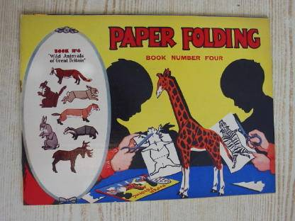 Photo of PAPER FOLDING BOOK NUMBER FOUR published by Waddy Productions (STOCK CODE: 735416)  for sale by Stella & Rose's Books