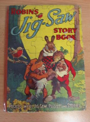 Photo of ROBIN'S JIG-SAW STORY BOOK published by John Leng & Co. Ltd. (STOCK CODE: 735698)  for sale by Stella & Rose's Books