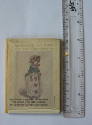 Photo of ALMANACK FOR 1924 illustrated by Greenaway, Kate published by Frederick Warne & Co Ltd. (STOCK CODE: 737044)  for sale by Stella & Rose's Books