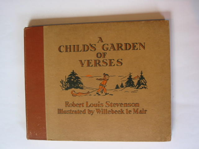 Photo of A CHILD'S GARDEN OF VERSES written by Stevenson, Robert Louis illustrated by Willebeek Le Mair, Henriette published by George G. Harrap & Co. Ltd. (STOCK CODE: 738815)  for sale by Stella & Rose's Books