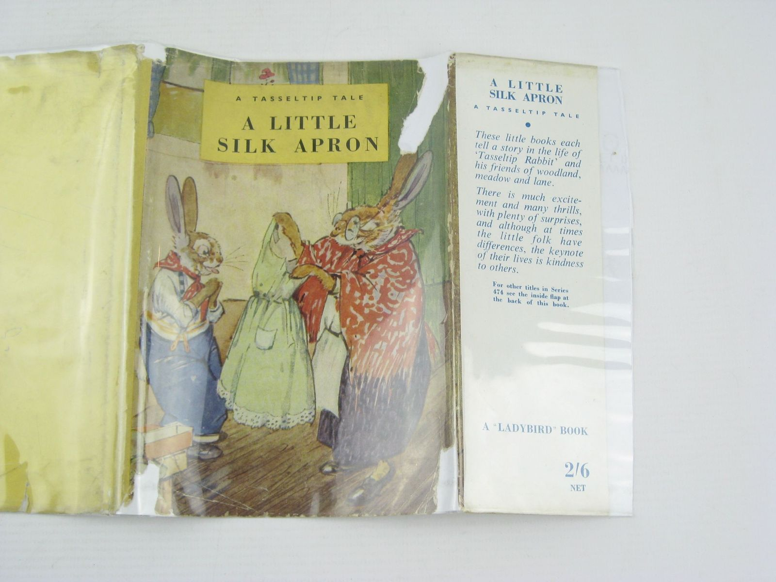 Photo of A LITTLE SILK APRON written by Richards, Dorothy illustrated by Aris, Ernest A. published by Wills & Hepworth Ltd. (STOCK CODE: 739689)  for sale by Stella & Rose's Books