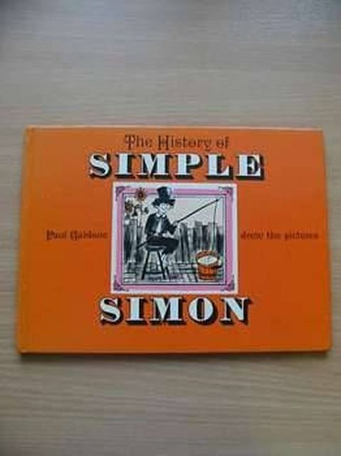 Photo of THE HISTORY OF SIMPLE SIMON illustrated by Galdone, Paul published by The Bodley Head (STOCK CODE: 804490)  for sale by Stella & Rose's Books