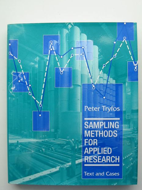 Photo of SAMPLING METHODS FOR APPLIED RESEARCH written by Tryfos, Peter published by John Wiley & Sons (STOCK CODE: 806100)  for sale by Stella & Rose's Books