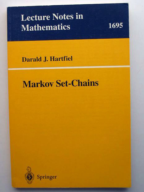 Photo of MARKOV SET-CHAINS written by Hartfiel, Darald J. published by Springer (STOCK CODE: 806109)  for sale by Stella & Rose's Books