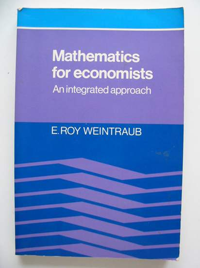 Photo of MATHEMATICS FOR ECONOMISTS written by Weintraub, E. Roy published by Cambridge University Press (STOCK CODE: 807129)  for sale by Stella & Rose's Books