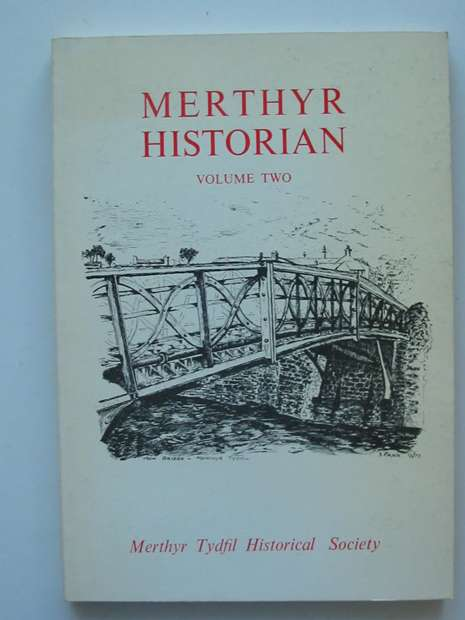 Photo of MERTHYR HISTORIAN VOLUME 2 written by Gross, Joseph published by Merthyr Tydfil Historical Society (STOCK CODE: 807500)  for sale by Stella & Rose's Books