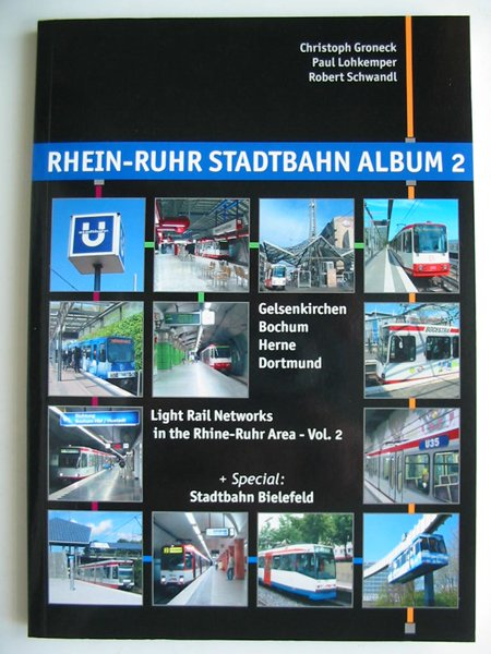 Photo of RHEIN-RUHR STADTBAHN ALBUM 2 written by Groneck, Christoph<br />Lohkemper, Paul<br />Schwandl, Robert published by Robert Schwandl (STOCK CODE: 808423)  for sale by Stella & Rose's Books
