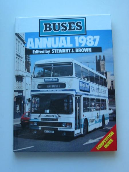 Photo of BUSES ANNUAL 1987 written by Brown, Stewart J. published by Ian Allan Ltd. (STOCK CODE: 808770)  for sale by Stella & Rose's Books