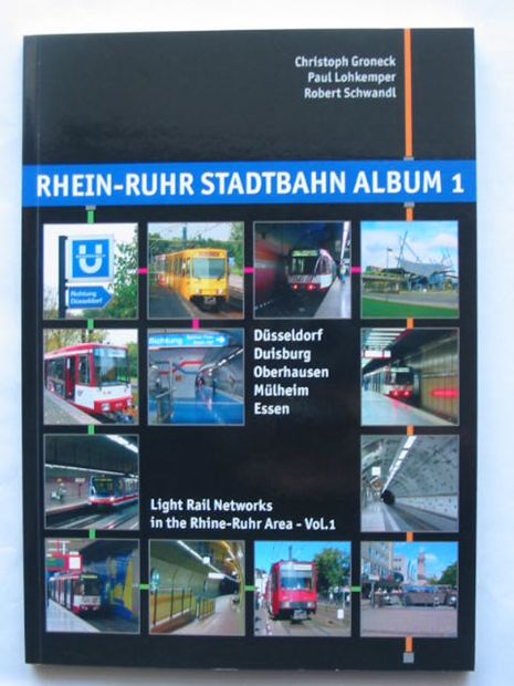 Photo of RHEIN-RUHR STADTBAHN ALBUM 1 written by Groneck, Christoph<br />Lohkemper, Paul<br />Schwandl, Robert published by Robert Schwandl (STOCK CODE: 809414)  for sale by Stella & Rose's Books