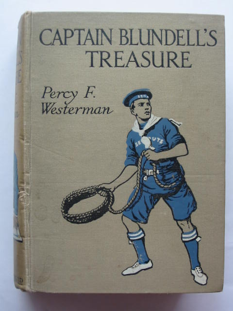 Photo of CAPTAIN BLUNDELL'S TREASURE written by Westerman, Percy F. illustrated by Cameron, John published by Blackie & Son Ltd. (STOCK CODE: 809916)  for sale by Stella & Rose's Books