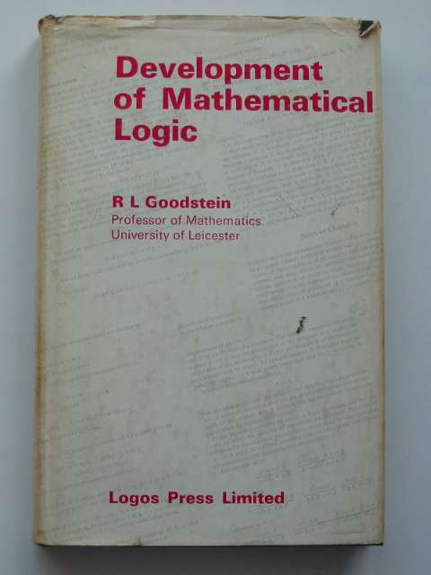 Photo of DEVELOPMENT OF MATHEMATICAL LOGIC written by Goodstein, R.L. published by Logos Press Limited (STOCK CODE: 811073)  for sale by Stella & Rose's Books