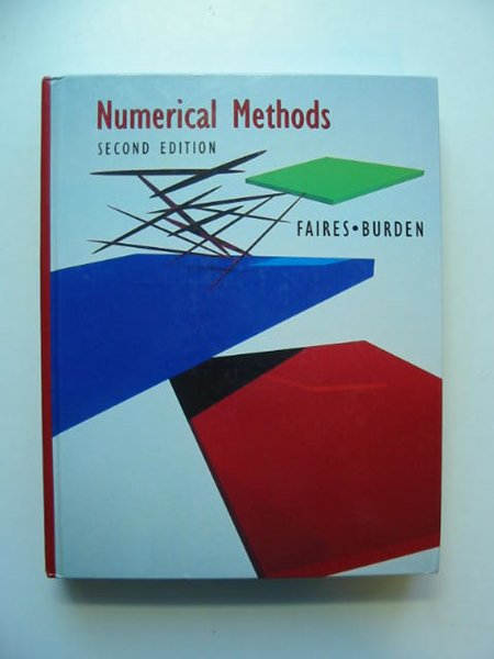 Photo of NUMERICAL METHODS written by Faires, J. Douglas<br />Burden, Richard L. published by Brooks Cole (STOCK CODE: 811620)  for sale by Stella & Rose's Books