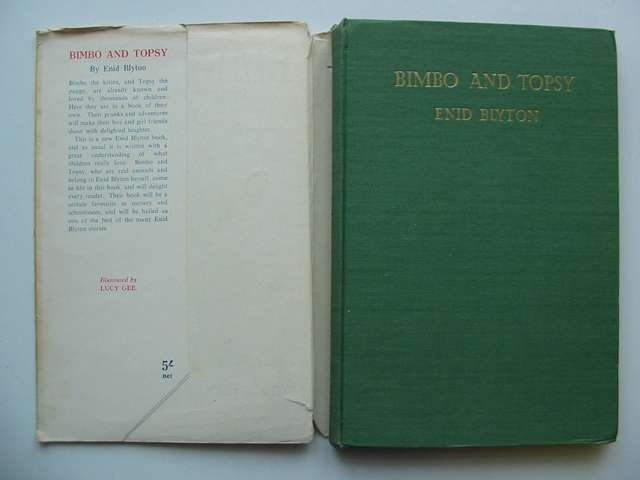 Photo of BIMBO AND TOPSY written by Blyton, Enid illustrated by Gee, Lucy published by George Newnes Ltd. (STOCK CODE: 813628)  for sale by Stella & Rose's Books