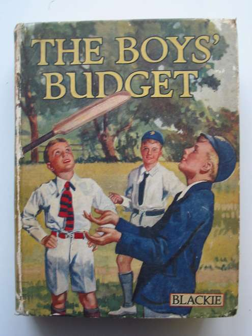 Photo of THE BOYS' BUDGET written by Westerman, Percy F.<br />Rankin, Hamish<br />et al,  illustrated by Brock, H.M.<br />Hilder, Rowland<br />et al.,  published by Blackie & Son Ltd. (STOCK CODE: 813798)  for sale by Stella & Rose's Books
