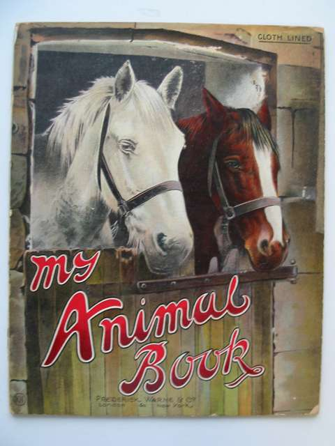 Photo of MY ANIMAL BOOK published by Frederick Warne & Co. (STOCK CODE: 813959)  for sale by Stella & Rose's Books