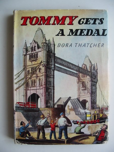 Photo of TOMMY GETS A MEDAL written by Thatcher, Dora illustrated by Biro,  published by Brockhampton Press (STOCK CODE: 813987)  for sale by Stella & Rose's Books