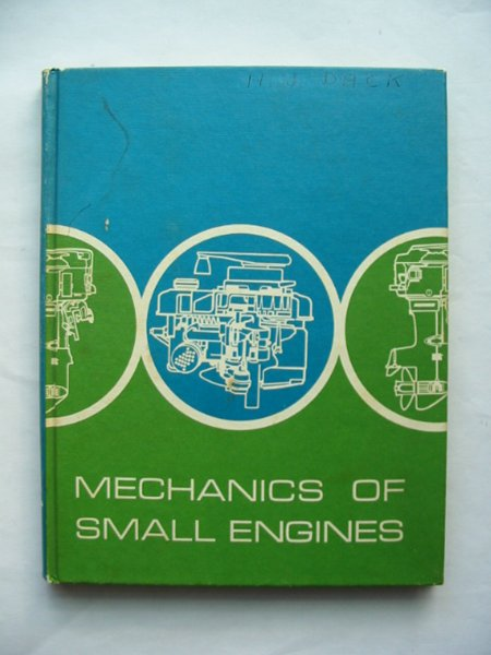 Photo of MECHANICS OF SMALL ENGINES written by Atkinson, Henry published by McGraw-Hill (STOCK CODE: 814368)  for sale by Stella & Rose's Books