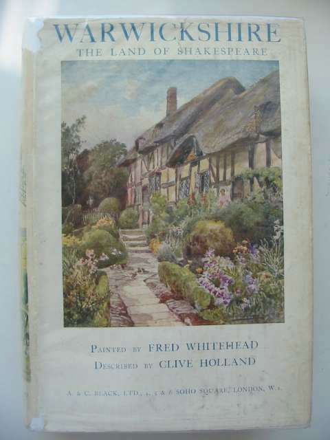 Photo of WARWICKSHIRE written by Holland, Clive illustrated by Whitehead, Fred published by A. & C. Black (STOCK CODE: 815638)  for sale by Stella & Rose's Books