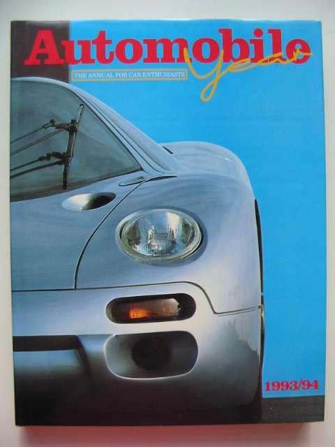Photo of AUTOMOBILE YEAR NO. 41 1993/94 written by Norris, Ian published by Editions Jr (STOCK CODE: 816334)  for sale by Stella & Rose's Books