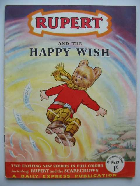 Photo of RUPERT ADVENTURE SERIES No. 27 - RUPERT AND THE HAPPY WISH written by Bestall, Alfred published by Daily Express (STOCK CODE: 816647)  for sale by Stella & Rose's Books