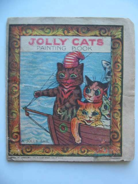 Photo of JOLLY CATS PAINTING BOOK illustrated by Wain, Louis published by Geographia Ltd. (STOCK CODE: 816681)  for sale by Stella & Rose's Books