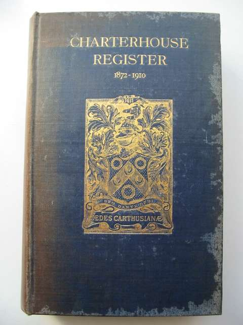 Photo of CHARTERHOUSE REGISTER 1872-1910 VOLUME I published by Chiswick Press (STOCK CODE: 818098)  for sale by Stella & Rose's Books