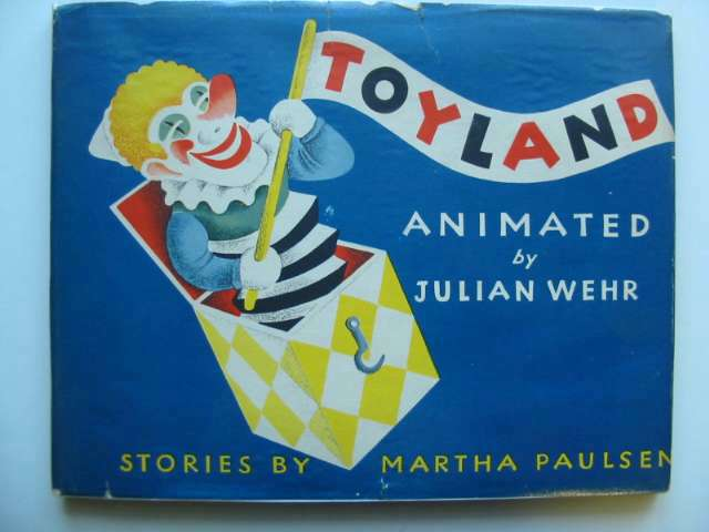 Photo of TOYLAND written by Paulsen, Martha illustrated by Wehr, Julian published by The Saalfield Publishing Company (STOCK CODE: 818216)  for sale by Stella & Rose's Books