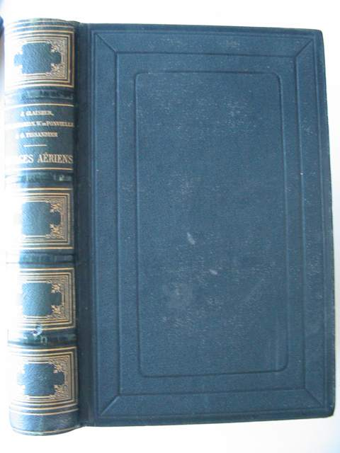 Photo of VOYAGES AERIENS written by Glaisher, J.<br />Flammarion, Camille<br />De Fonvielle, Wilfrid<br />Tissandier, Gaston illustrated by Ciceri, Eugene<br />Marie, Adrien<br />Tissandier, Albert published by Librairie De L. Hachette Et Cie. (STOCK CODE: 818588)  for sale by Stella & Rose's Books