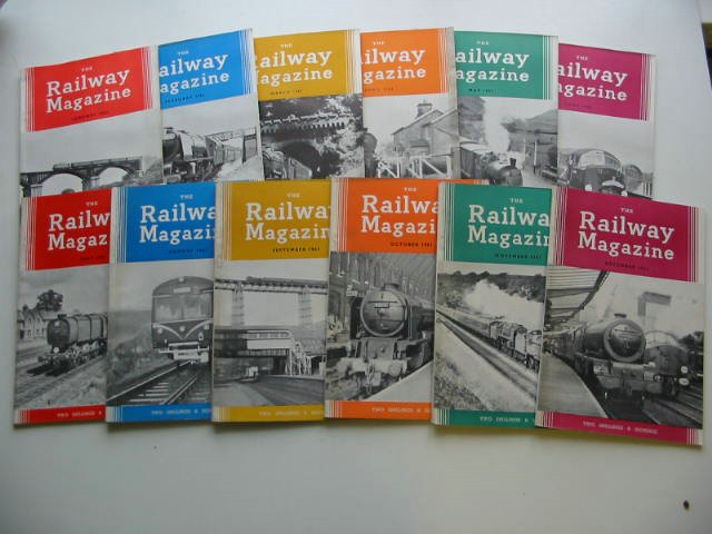 Photo of THE RAILWAY MAGAZINE VOL 107 published by The Tothill Press (STOCK CODE: 819667)  for sale by Stella & Rose's Books
