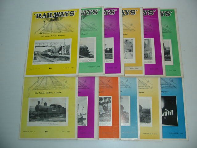 Photo of RAILWAYS VOLUME 10 published by Railway World Limited (STOCK CODE: 819674)  for sale by Stella & Rose's Books