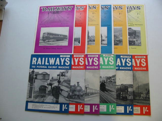 Photo of RAILWAYS VOLUME 11 published by Railway World Limited (STOCK CODE: 819675)  for sale by Stella & Rose's Books