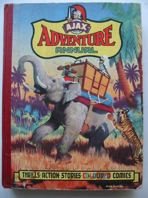 Photo of AJAX ADVENTURE ANNUAL published by Popular Press Ltd. (STOCK CODE: 819739)  for sale by Stella & Rose's Books