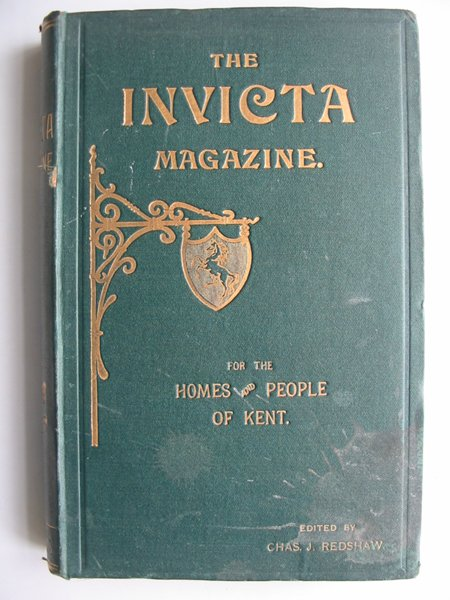 Photo of THE INVICTA MAGAZINE VOLUME 1 written by Redshaw, C.J. published by Snowden Brothers (STOCK CODE: 821083)  for sale by Stella & Rose's Books