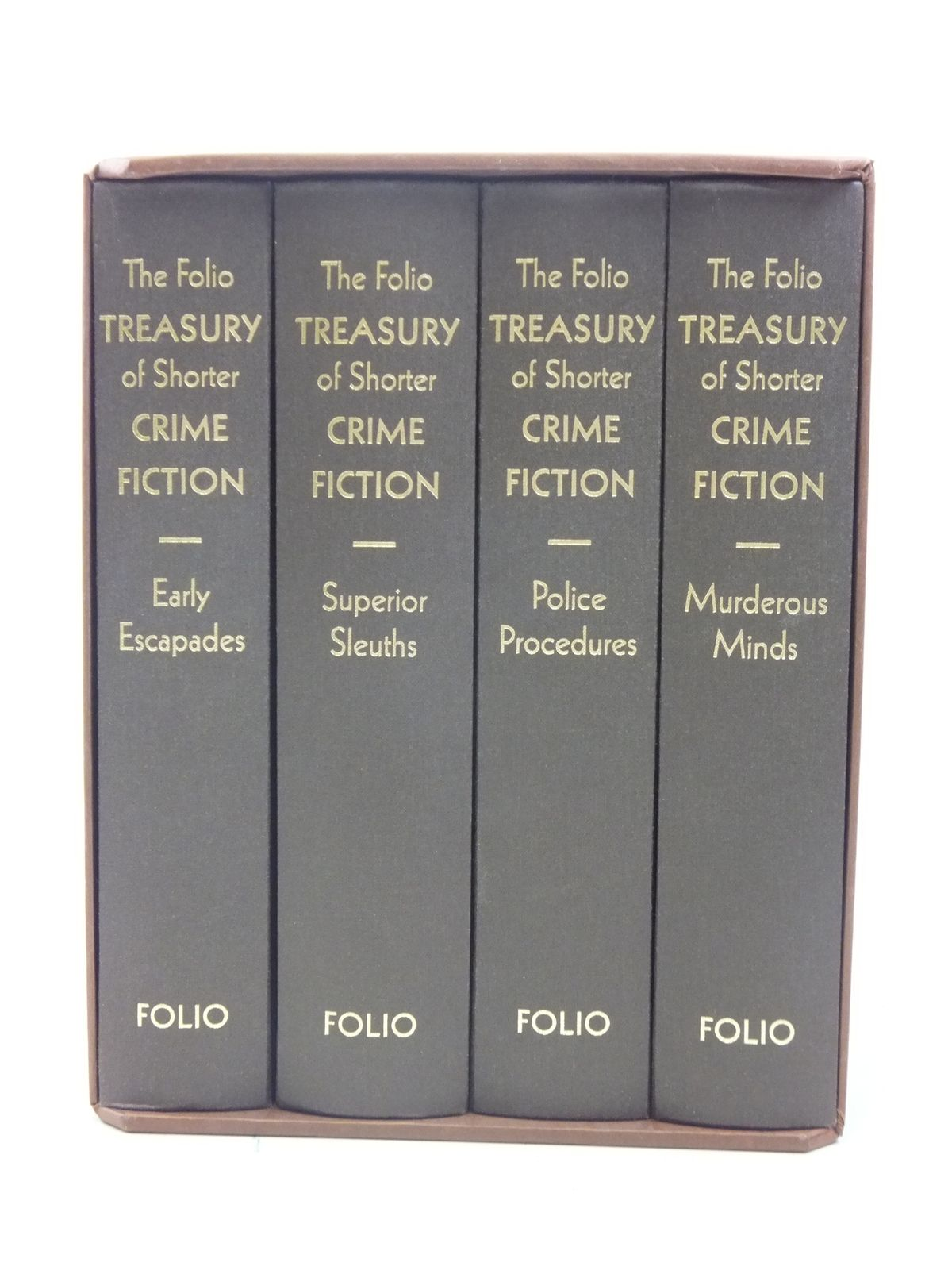 The Folio Treasury of Shorter Crime Fiction Brand New Folio Society 2007