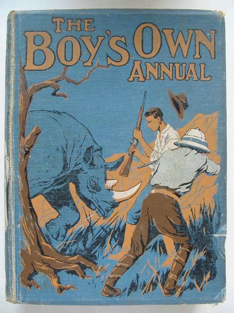 Photo of THE BOY'S OWN ANNUAL VOL 44 written by Gilson, Charles<br />Avery, Harold<br />et al,  published by The Boy's Own Paper (STOCK CODE: 823452)  for sale by Stella & Rose's Books