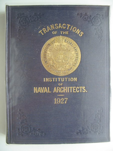 Photo of TRANSACTIONS OF THE INSTITUTION OF NAVAL ARCHITECTS VOLUME LXIX written by Dana, R.W. published by Institution Of Naval Architects (STOCK CODE: 900443)  for sale by Stella & Rose's Books