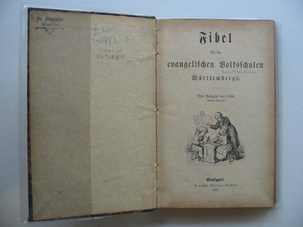 Photo of FIBEL FUR DIE EVANGELISCHEN BOLTSCHULEN published by Deutsche Verlag Anhalt (STOCK CODE: 986993)  for sale by Stella & Rose's Books